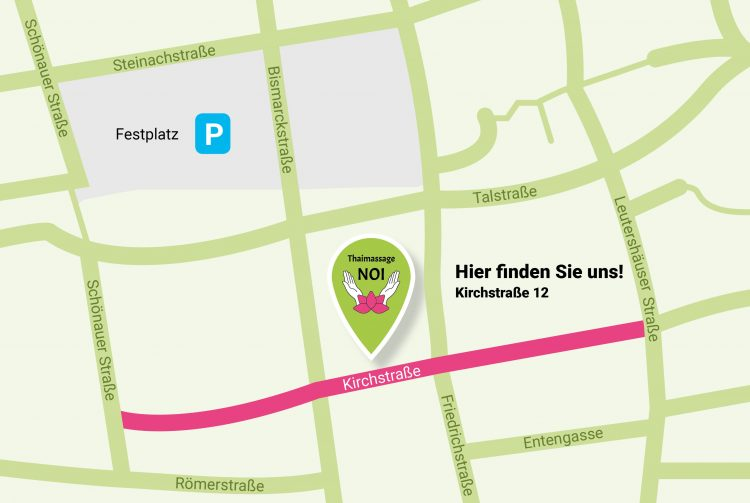 Map_Noi_Thaimassage_Schriesheim